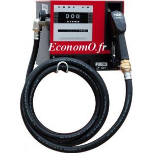 Distributeur Piusi Cube 56 de Gasoil a Compteur Mecanique 56 l/mn 230 volts 50Hz 0,36 kW - EconomO.fr