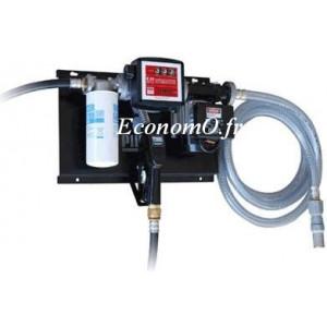 Station de Transvasement de Gasoil ST E120 Filter A120 debit 85 l/mn 230 V Compteur Filtre et Tuyau d Aspiration - EconomO.fr