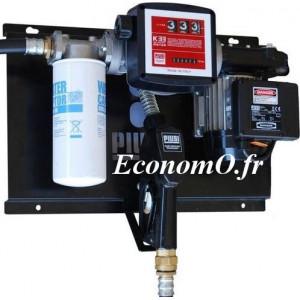 Station de Transvasement de Gasoil ST E120 Filter A120 debit 85 l/mn 230 V Compteur et Filtre - EconomO.fr