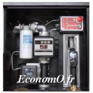 Station de Transvasement de Gasoil ST BOX Panther 72 Pro debit 72 l/mn 230 V avec Coffret Metallique et ACCESS 85 - EconomO.fr