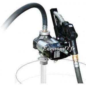 Groupe de Transvasement de Gasoil DRUM Bi-Pump 12 V A120 PIUSI 80 l/mn Pistolet Automatique - EconomO.fr
