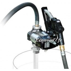 Groupe de Transvasement de Gasoil DRUM Bi-Pump 12 V A120 PIUSI 80 l/mn Pistolet Automatique Compteur K33 - EconomO.fr