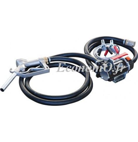 Groupe Portable de Transvasement de Gasoil BATTERY KIT 3000 12V PIUSI 50 l/min - EconomO.fr