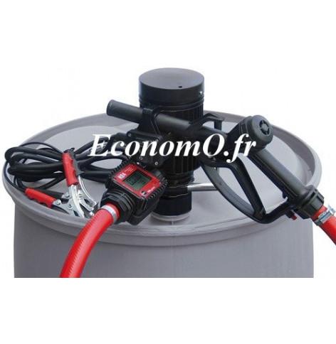 Groupe Pompe pour Transvasement de Gasoil Antigel et Eau PICO 230 K24 M PIUSI 230 V avec Compteur et Pistolet Manuel