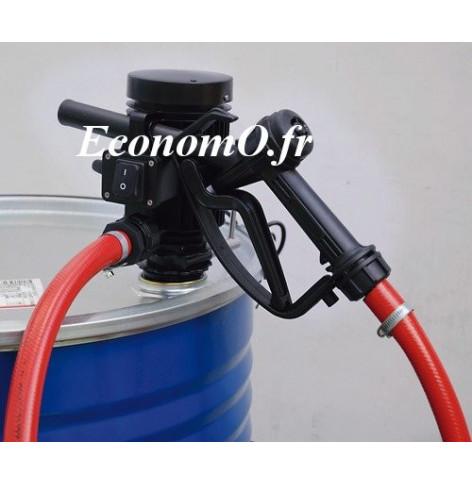 Groupe Pompe pour Transvasement de Gasoil Antigel et Eau PICO 24 A PIUSI 24 V Pistolet Automatique