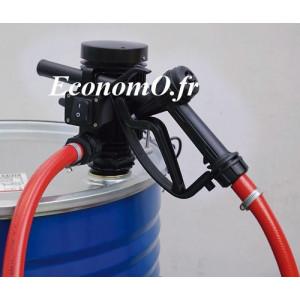 Groupe Pompe pour Transvasement de Gasoil Antigel et Eau PICO 230 A PIUSI 230 V Pistolet Automatique