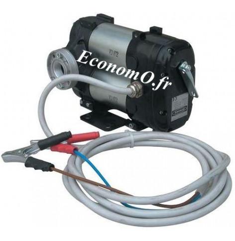 Pompe Piusi de Transvasement de Gasoil a Palettes BIPUMP 12 V 85 l/mn avec Interrupteur et Cable de 2 m