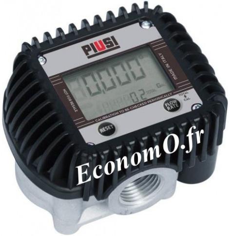 Compteur Electronique K400 QT/NPT Piusi pour Antigel Biodiesel Gasoil et Huile - EconomO.fr