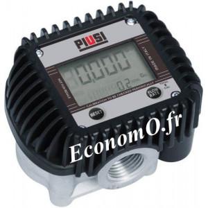 Compteur Electronique K400 QT/NPT Piusi pour Antigel Biodiesel Gasoil et Huile