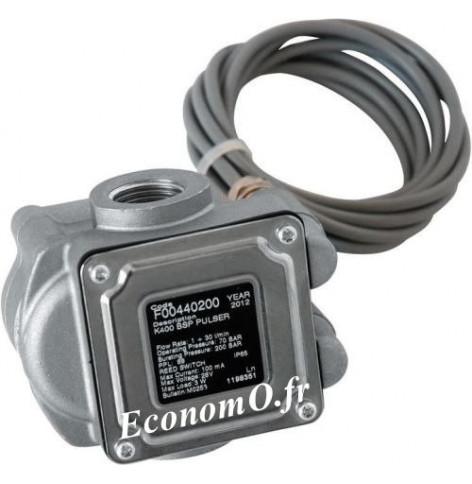 Compteur Electronique a Impulsion K400 PULSER Piusi pour Antigel Biodiesel Gasoil et Huile - EconomO.fr