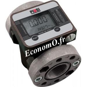 Compteur Electronique K600/3 oil Piusi pour Antigel Biodiesel et Huile - EconomO.fr