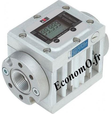 Compteur Electronique Piusi K600/4 pour Antigel Biodiesel Gasoil et Huile