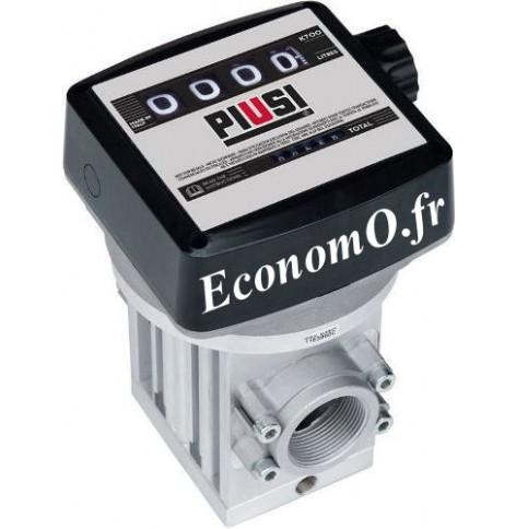 Compteur Mecanique Piusi a Engrenage K700M Sens du Flux de Droite a Gauche pour Diesel