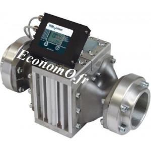 Compteur Piusi Electronique K900 GAL/NPT pour Antigel Biodiesel Gasoil et Huile