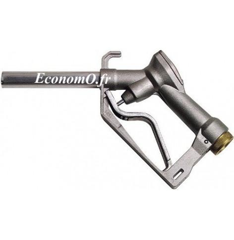 """Pistolet Manuel Piusi Self 2000 avec Raccord Tournant 1"""" (26 x 34) Femelle pour Biodiesel Gasoil Essence et Huile 120 l/mn"""