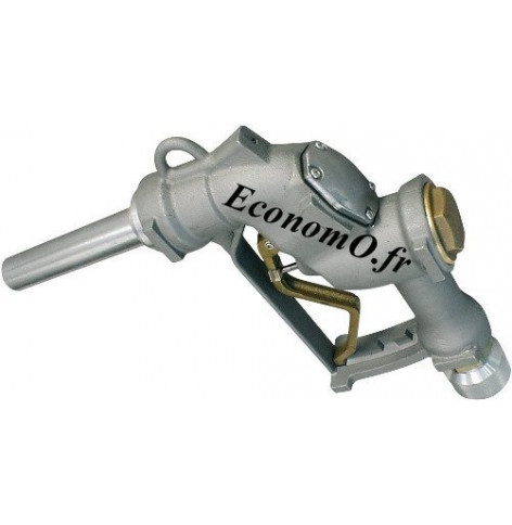 """Pistolet Automatique Piusi A280 Raccord Tournant 1""""1/2 (40 x 49) Femelle pour Diesel et Essence 280 l/mn - EconomO.fr"""