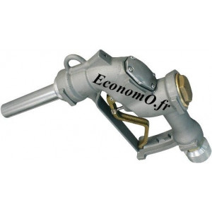 """Pistolet Automatique Piusi A280 Raccord Tournant 1""""1/2 (40 x 49) Femelle pour Diesel et Essence 280 l/mn"""