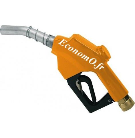 "Pistolet Piusi Automatique A60 Rapsoil Raccord Tournant 1"" (26 x 34) Femelle pour Biodiesel 60 l/mn - EconomO.fr"