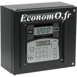 Tableau Electronique de Controle Piusi MC BOX PRESET 230V 50Hz 80 Utilisateurs