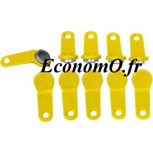 10 Clefs Jaunes Utilisateur Piusi - EconomO.fr