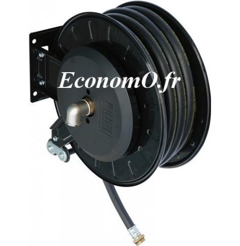 """Enrouleur Automatique PIUSI avec 10 m deTuyau de Distribution de Gasoil 1"""""""