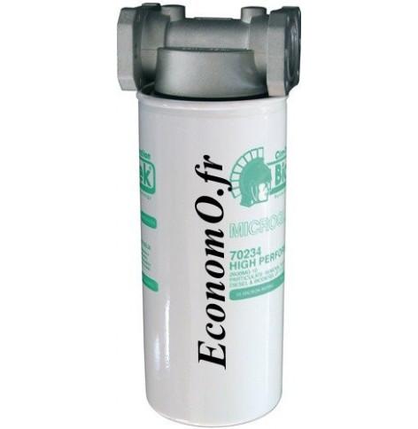 Filtre a Cartouche Bio-Diesel Essence a Absorption d Eau 10 microns 70 l/mn - EconomO.fr