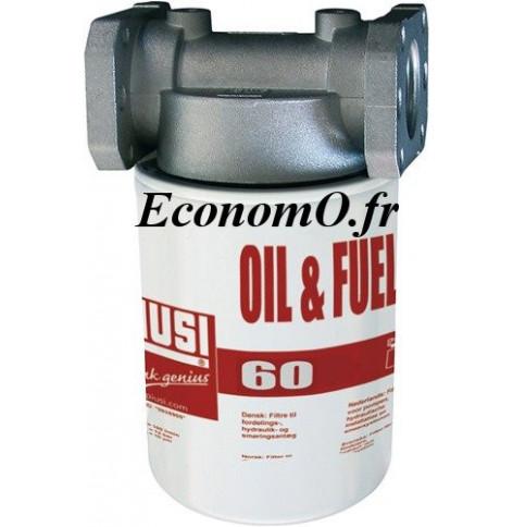 Filtre a Cartouche Huile et Fuel a Absorption d Eau 10 microns 60 l/mn - EconomO.fr