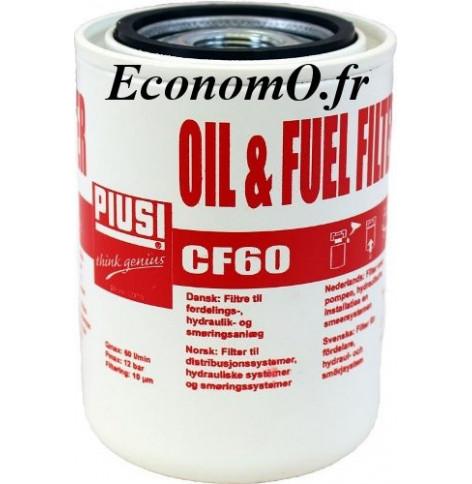 Cartouche pour Filtre a Cartouche Huile et Fuel a Absorption d Eau 10 microns 60 l/mn