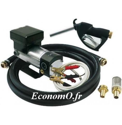 Groupe Portable Piusi de Transvasement d Huile Battery Kit Viscomat 24 V 10 l/mn