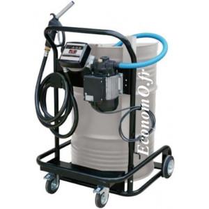 Unite Mobile de Transvasement de Biodiesel Gasoil et Huile Piusi Viscotroll 70/K33 230 V