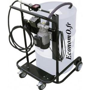 Unite Mobile de Transvasement de Biodiesel Gasoil et Huile Piusi Viscotroll 200/2 AC 230 V - EconomO.fr