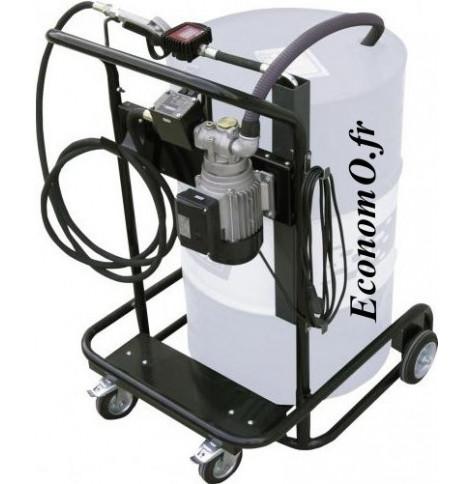 Unite Mobile de Transvasement de Biodiesel Gasoil et Huile Piusi Viscotroll 200/2 AC PST K400 230 V
