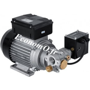 Pompe a Engrenage pour Huile VISCO-FLOWMAT 350/2 Piusi 230V 9 l/mn avec Pressostat - EconomO.fr