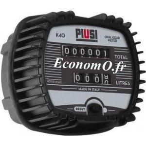 Compteur Mécanique K40 Piusi pour Huile et Biodiesel