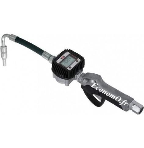 Pistolet pour Huile a Compteur Electronique K400 avec Bec Flexible de 1 a 30 l/mn