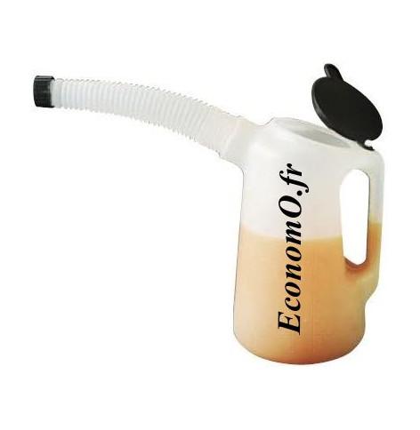 Container 1 litre pour Huile - EconomO.fr