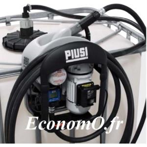 Distributeur d'Urée Piusi THREE25 - 34 l/min avec Compteur K24 Pistolet SB325 - EconomO.fr