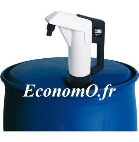 Pompe a Bras PIUSI Suzzarablue a Piston avec Tube Plongeur - EconomO.fr