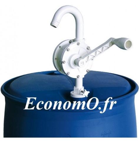Pompe a Bras Suzzarablue PIUSI Rotative avec Tube Plongeur - EconomO.fr