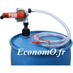 Pompe Manuelle PIUSI 56x4 avec Tuyau pour AdBlue - EconomO.fr