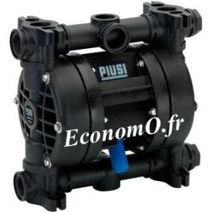 Pompe Pneumatique à Membrane pour Diesel, Eau, Urée et Antigel Piusi MP140 Polypropylène 100 l/mn - EconomO.fr