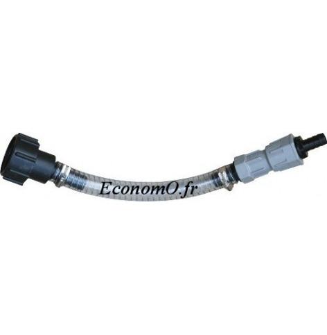 Kit de connection Basse avec Raccord pour Reservoir IBC - EconomO.fr