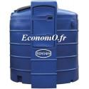 Cuve de Stockage Adblue Renson PEHD 9000 Litres 230 V 35 L/min avec Régulateur de Température - EconomO.fr