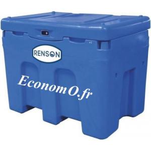Cuve de Ravitaillement Adblue Renson Polyéthylène 450 L 12 V 35 L/min avec Pistolet Automatique et Compteur - EconomO.fr