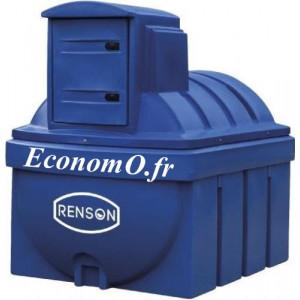 Cuve de Stockage Adblue Renson PEHD 2500 Litres 230 V 35 L/min avec Régulateur de Température - EconomO.fr