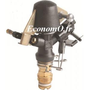 Arroseur Perrot ZA 22 W Buse 3,5 à 4,5 mm de 0,69 à 1,53 m3/h Portée 10,5 à 14 m entre 2,5 et 4,5 bars - EconomO.fr
