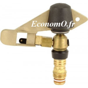 Arroseur Perrot Circulaire ZA 7 Buse 3,5 à 4,5 mm de 0,69 à 1,53 m3/h Portée 8 à 11,2 m entre 2,5 et 4,5 bars - EconomO.fr