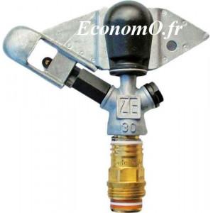 Arroseur Perrot Circulaire ZE 30 Buse 5 à 7 mm de 1,25 à 4,61 m3/h Portée 14 à 21,8 m entre 3 et 7 bars - EconomO.fr