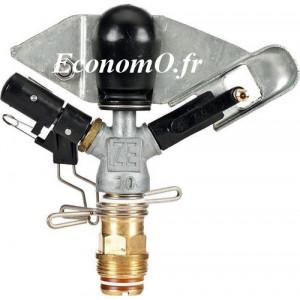 Arroseur Perrot ZE 30 W Buse 5 à 7 mm de 1,25 à 4,61 m3/h Portée 14 à 21,8 m entre 3 et 7 bars - EconomO.fr