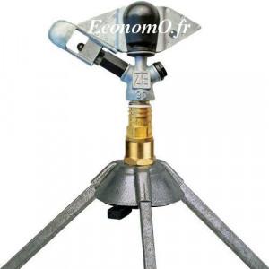 Arroseur Perrot ZE 30 W avec Trepied Buse 5 à 7 mm de 1,25 à 4,61 m3/h Portée 14 à 21,8 m entre 3 et 7 bars - EconomO.fr